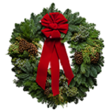 Regal Christmas Wreaths