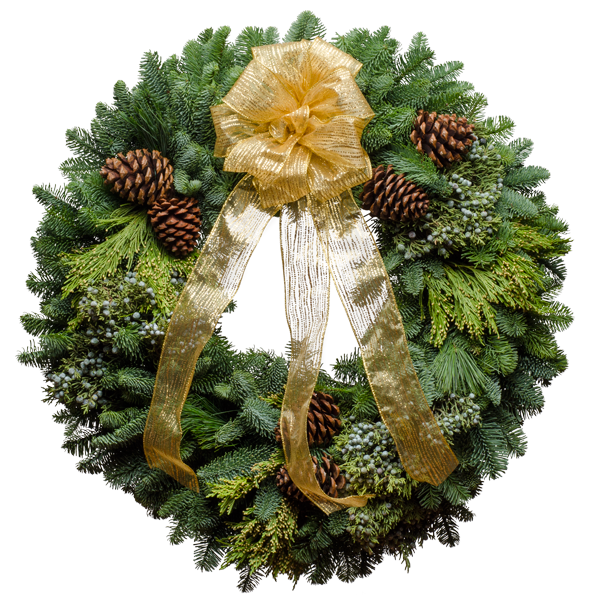 Santa's Favorite Christmas Wreath
