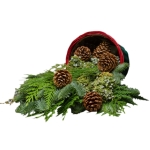 Farmer Basket of Evergreens