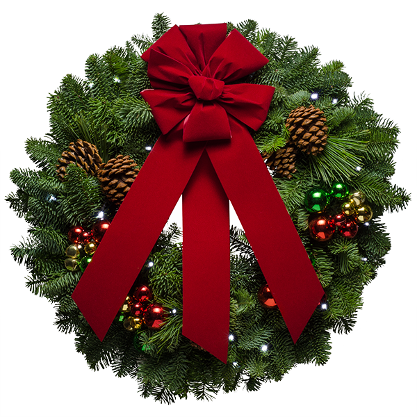 Jingle Bell Christmas Wreath