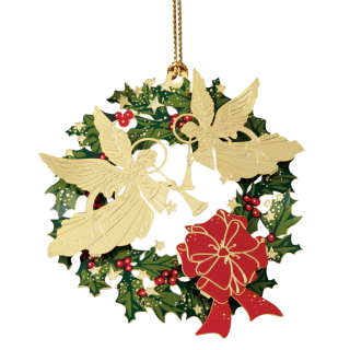 Angel Wreath Ornaments