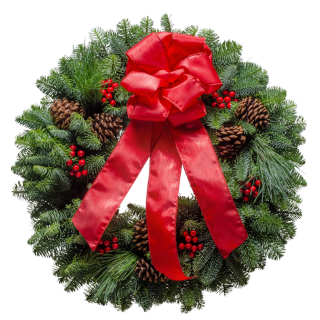 20 Christmas Classic Christmas Wreath