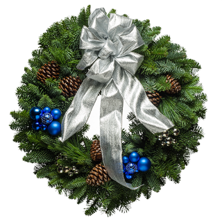 "20"" Jazz-a,Tazz Christmas Wreath"