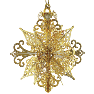 2016 3D Snowflake Ornament