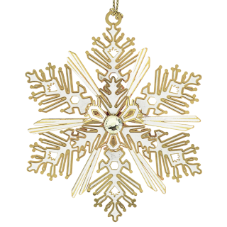 Luminous Snowflake Ornament