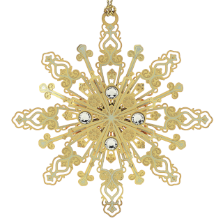 Radiant Snowflake Ornament