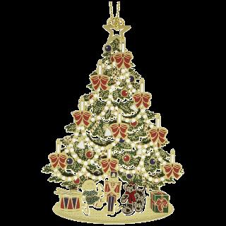 Classic Christmas Tree Ornament