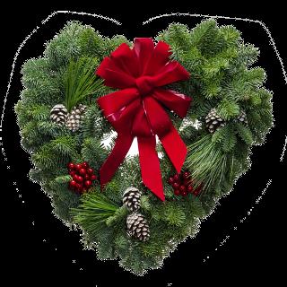 16 Christmas Sweetheart Wreath