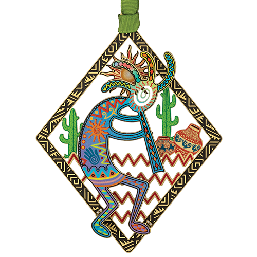 Kokopelli Ornament | Spirit of Music, Fertility and Prosperity